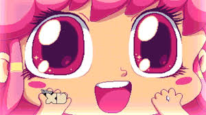 excited anime eyes. Exellent Excited Happy Big Eyes GIF For Excited Anime O