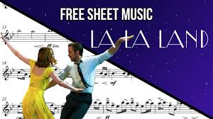 city of stars violin sheet music free sheet music violin city of stars from la la land youtube