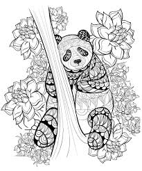 Small Picture pages panda by alfadanz Animals Coloring pages for adults