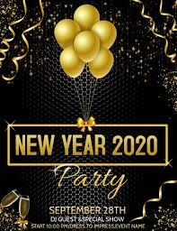 New Year Flyers Template Event Flyer Party Flyer New Year Flyers Template Postermywall