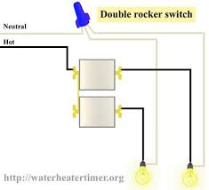 light switch controls outlet in same box electricity pinterest leviton double switch wiring diagram at Double Pole Switch Wiring Diagram Light