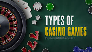Types of Casino Games | List of Casino Games Online
