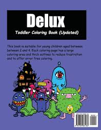 Delux Coloring Book A Coloring Colouring Book For Kids With