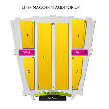 Utep Magoffin Auditorium 2019 Seating Chart