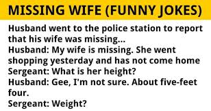 Husband Went To The Police Station To Report That His Wife Was Gorgeous Missing My Wife