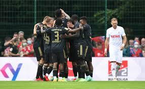 Fc köln in der bundesliga 2021/22: Testspiel 1 Fc Koln Fc Bayern Munchen