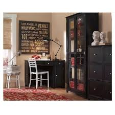 modular solid oak home office furniture. Winsome Black Home Office Desk 18 Furniture Beautiful Design And Decoration Using L Shape Wood Modular Including Solid Oak Laminate Flooring Light Gray Wall M