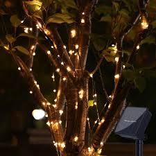 Amazon Com Solar Light Led Light Bar 100 Leds Waterproof