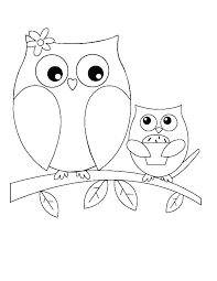 Halloween Owl Coloring Pages Owl Color Page Cartoon Owl Coloring