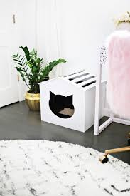 Litter Box Cover DIY! (click through for tutorial)