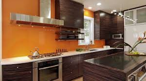 feature wall in kitchen kitchen remodel featuring calypso orange back splash feature wall and