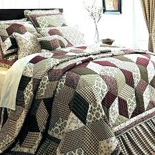 rustic quilt bedding sets rustic country quilts country quilts rustic burdy green paisley block twin queen