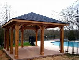Aluminum Patio Cover Kits Cheap Patio Roof Ideas Free Standing Patio