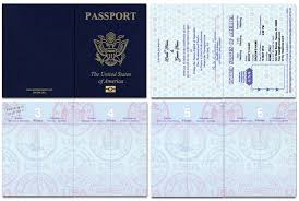 Passport 46, Standard Passport - Custom Passport Invitations