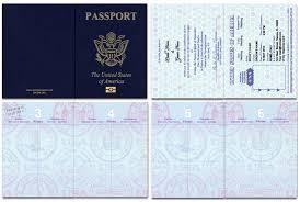 Passport 46, Standard Passport - Custom Passport Invitations