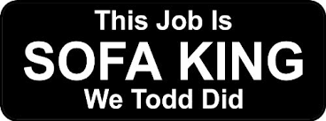 Sofa King We Todd It Review