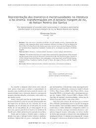 PDF) Representação dos monstros e monstruosidades na literatura e no  cinema: transformações em A terceira margem do rio, de Nelson Pereira dos  Santos