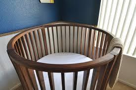 Round Baby Crib - Modern