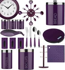 Purple Kitchen Canister Sets Tea And Coffee Jars Ebay