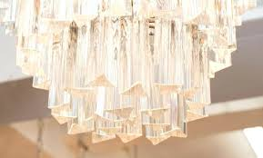 3 tier chandelier for jacqueline two three crystal with glass prisms at home improvement glamorous l a circa round chande
