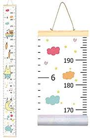 Kids Growth Chart Sylfairy Growth Chart Wall Hanging Kids Wall Ruler Removable Height Measure Chart For Boys Girls Growth Ruler From Baby To Adult For Childs Room