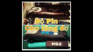 Độ Pin Cho Tông Đơ Kemei 2600 Rất Dể...Cho Các Bạn Tự Làm Ở Nhà! - YouTube