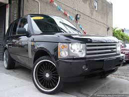 2004 Used Cars Land Rover Range Rover 35k Mi W/black Rims~1 Owner ...