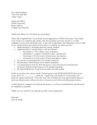 Cover Letter For Graduate School Adorable Cover Letter Graduate Program Thesocialsubmit