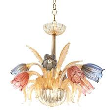 murano glass chandelier mid century glass chandelier with tulip motif murano glass chandelier parts for