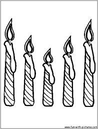 Small Picture Coloring Pages Candle