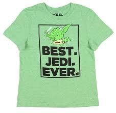 star wars little boys yoda best jedi ever light green heather t shirt
