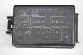 mx5 fuse box cover n027 *used* fuse box cover ideas fuse box cover n027 *used*