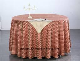 30 x 72 tablecloth fitted for table china custom modern design linen hotel jacquard round kitchen