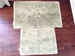 plush bath rugs ultra plush bathroom rugs 2 light green restoration hardware pile bath