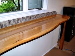 Wood Bar Top Pecan Wood Countertop Photo Gallery By Devos Custom Woodworking