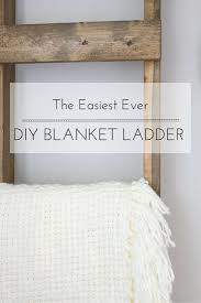 easy diy furniture projects. The Easiest Ever DIY Blanket Ladder {A Guest Post For AKA Design. LadderFurniture ProjectsDiy Easy Diy Furniture Projects