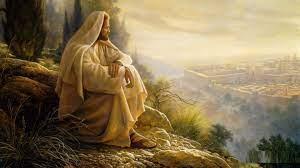 Jesus Christ Is Sitting 4K HD Jesus ...