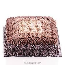 Deals For Chocolate Ombre Design Cake Kapruka
