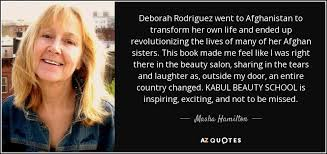 Beauty School Quotes Best of QUOTES BY MASHA HAMILTON AZ Quotes