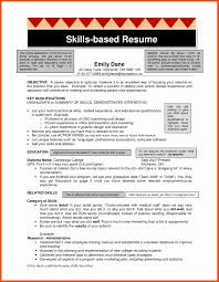 Skills Based Resume Template Free Best Of 7 8 Skills Based Resume
