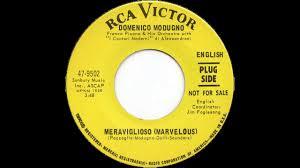 Domenico Modugno - Meraviglioso (Marvelous) - English Version - YouTube