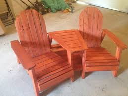 double adirondack chair plans. Ana White | Adirondack Chairs With Table - DIY Projects · Double Pallirondack Settee Chair Plans A