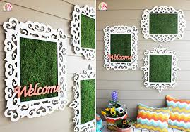 View in gallery Framed moss outdoor artwork