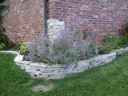 Decorative Stones For Flower Beds Flower Bed Decorative Rock Flowers Ideas
