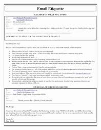 Sample Email Message With Attached Resume Unique Fresh Email