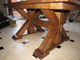 rustic elements furniture. Rustic Elements Furniture Creates Custom Pedestal Tables In A Variety Of Colors, Styles, And
