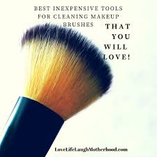 best inexpensive tools for cleaning makeup brushes