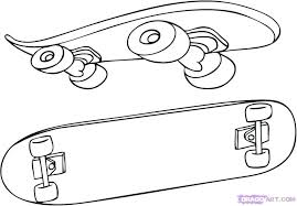 Design Your Own Skateboard Coloring Page Skateboard Designs Coloring