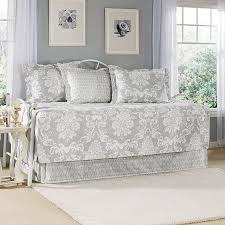 Laura Ashley Bedrooms Idea Laura Ashley Venetia Gray Daybed Set From Beddingstylecom