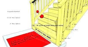 Deck rail spacing Calculator Height Of Deck Railing Deck Railing Height Deck Stair Railing Deck Railing Spacing Stair Railing Height Height Of Deck Railing Dhwanidhccom Height Of Deck Railing Deck Railing Spacing Interior Com Within Rail